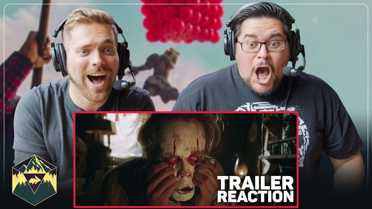 Download IT Chapter Two - Official Teaser Trailer Reaction