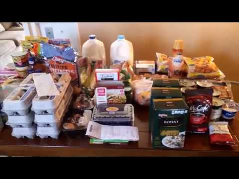 $100 Bi-Weekly Grocery Haul | Family of Five | Salvage Produce And Menu Plan