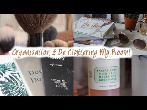 Organisation &  De Cluttering My Room!//Emmie Alice