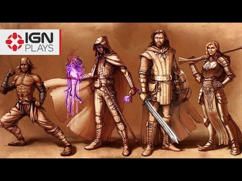 Pillars of Eternity's Character Creation is Amazing - IGN Plays