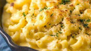 Baked Macaroni & Cheese with Panko Topping