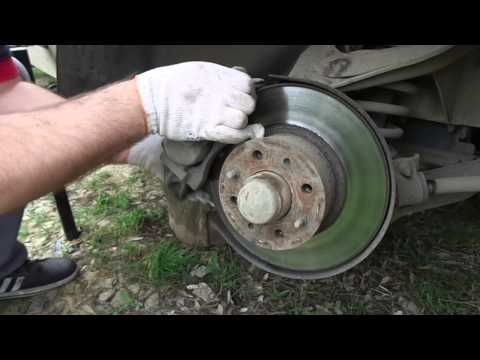 Замена подшипников передней ступицы ВАЗ 2107