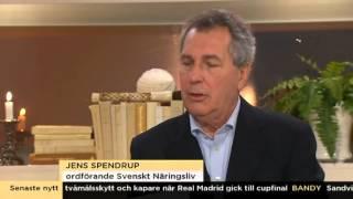 Jens Spendrup svarar på kritiken i Nyhetsmorgon - Nyhetsmorgon (TV4)