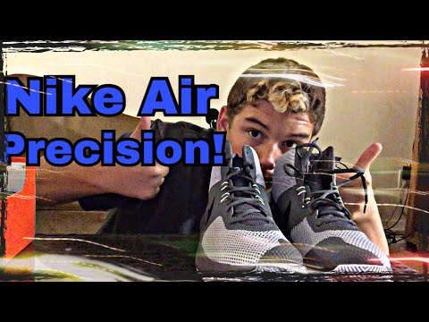 bbd7bfd89538a Nike Air Precision Unboxing! - YouTube