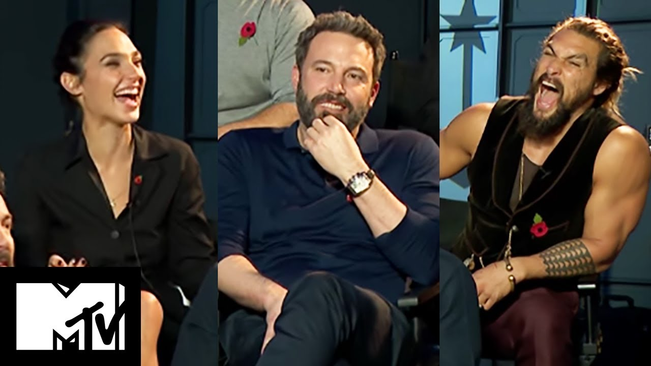 Download Justice League Movie Cast Reveal Funniest Moments Together   MTV Movies