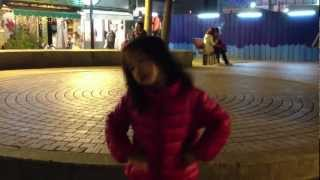 Amber dancing in the public (ZhongShan) part 2