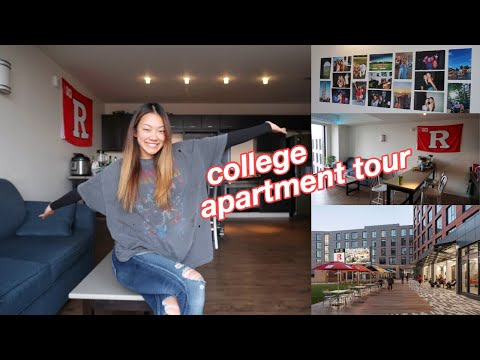 Rutgers University apartment tour | the yard, sojourner truth apartments, living on campus