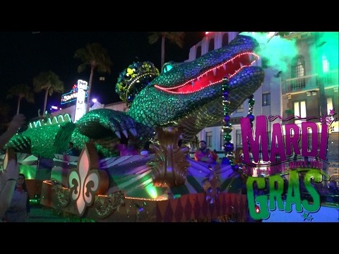 FULL 2017 Mardi Gras Parade from Universal Orlando