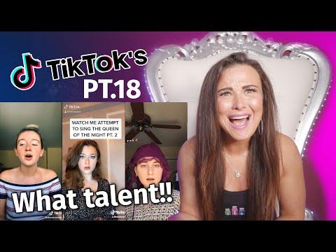 Vocal Coach Reacts to Tiktoks pt.18