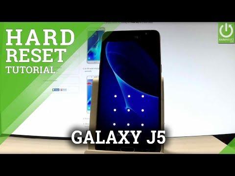 SAMSUNG Galaxy J5 (2016) HARD RESET / Bypass Pattern / Format