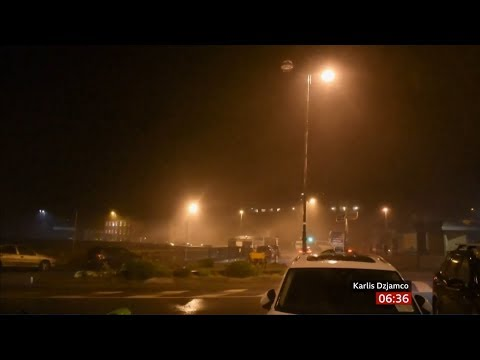 Weather Events 2019 – Storm Atiyah (Eire/UK) – BBC – 9th December 2019