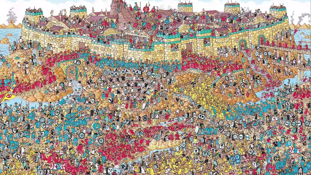 Zod continues his search for Waldo during a hurricane