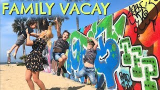 FAMILY TRIP TO LA WITH KIDS     RAW VLOG ON HOLIDAY     EMILY NORRIS