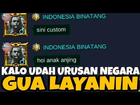 AKSI BELA NEGARA!! TOXIC BOLEH TAPI JANGAN BAWA NEGARA - Mobile Legends