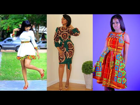 Latest Ankara Styles for Cute Young Ladies | Skirt, Blouse & Gown African Styles for Teenagers