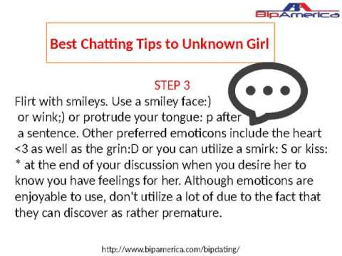 Best Chatting Tips to Unknown Girl