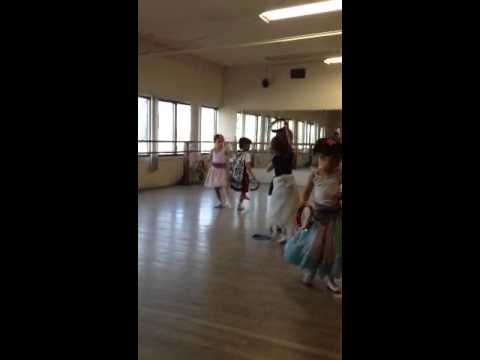 The baby's ballet class.