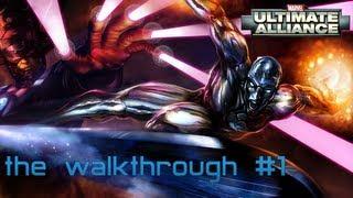 Marvel: Ultimate Alliance (PC) - Прохождение игры [часть 1]