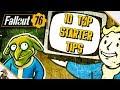 Fallout 76 BETA Starter Tips (Fallout 76 Beginners Guide)