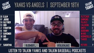 Yanks vs Angels | Sept 18th | Pre-Game Show