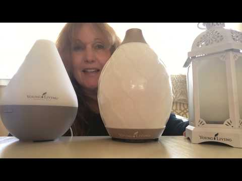 How to Use The Lantern, Dew Drop and Desert Mist Diffusers from Young Living