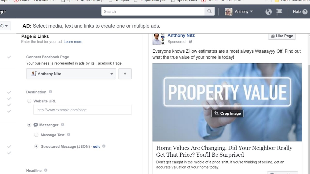 Messenger Ads in Facebook For Real Estate – Hey Everybody