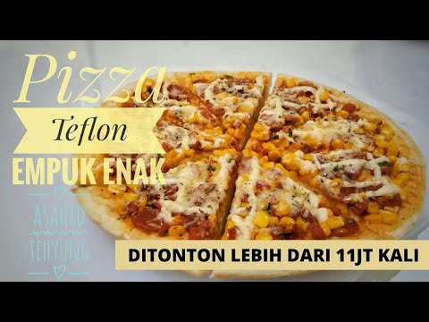 Cara Mudah Membuat Pizza Teflon (Rumahan)