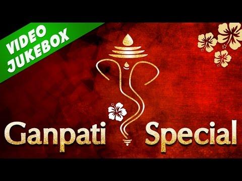 Superhit Ganpati Marathi Songs 2016 - Morya Morya | Tuch Mazhi Aai Deva | मराठी गाणी
