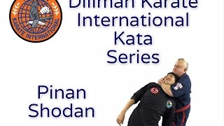 George Dillman/Dillman Karate International/Pinan Shodan