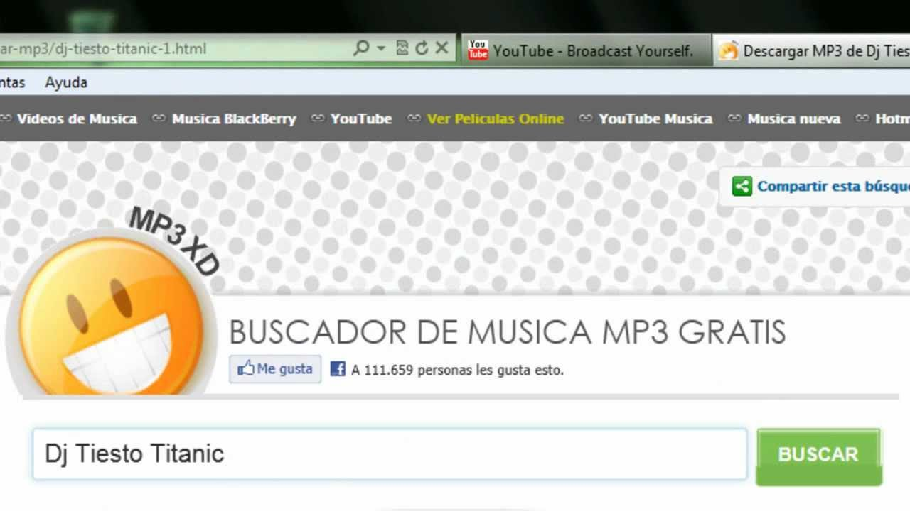 descarga de musica mp3