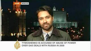 Neave Barker reports on Yulia Tymoshenko trial