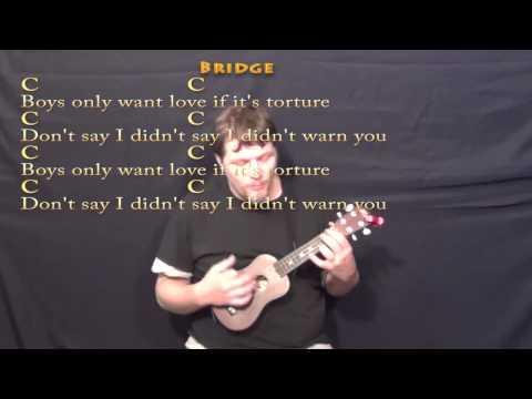 Blank Space (Taylor Swift) Ukulele Cover Lesson with Chords/Lyrics