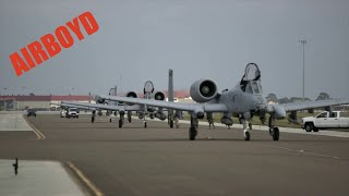 A-10 Warthogs Arrive at MacDill for Training