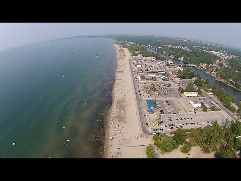 Wasaga Beach view from DRONE