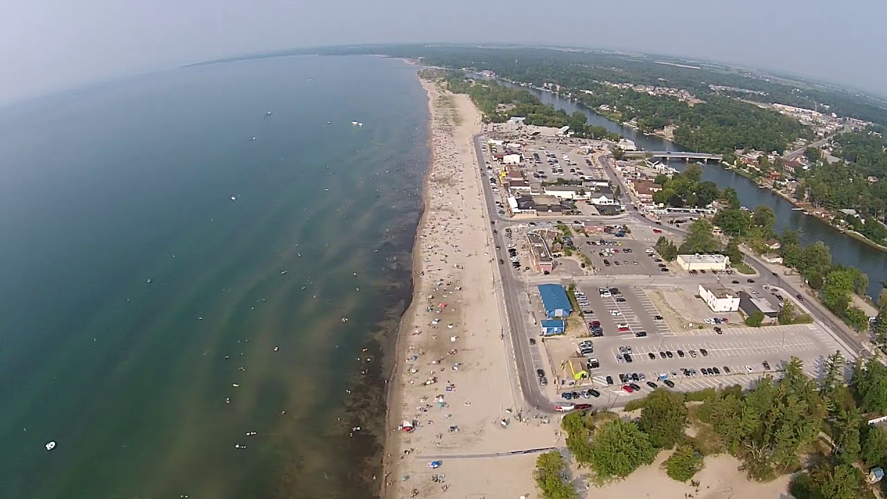 Wasaga Beach View From Drone Youtube