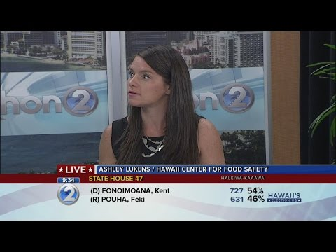 Ashley Lukens, Hawaii Center for Food Safety, on GMO ban