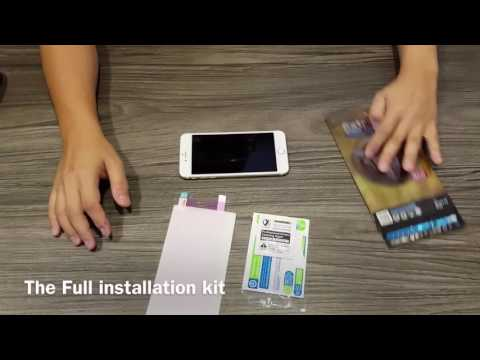 X One Extreme Screen Protector Installation Guide