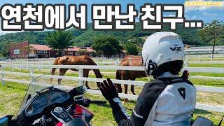 연천 망향비빔국수 본점 다양한 바이크 총집합/ 동막계곡…