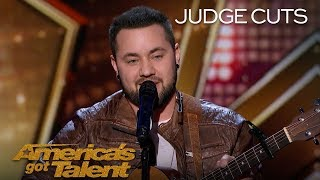 """Brody Ray: Transgender Singer Performs Original Song, """"Wake Your Dreams"""" - America's Got Talent 2018"""