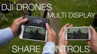 How to Share Screen & Controls for DJI Drones