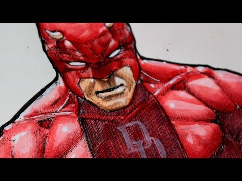 Drawing Daredevil - Marvel Comics