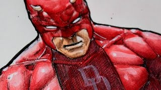 Drawing Daredevil - Marvel Comics
