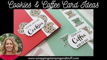 #118 Cute & Funny Cards With Stampin Up Nothing's Better Than Cookies, Chocolate, Coffee & Cocktails