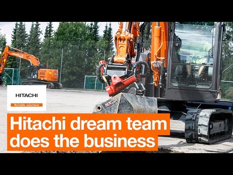 Hitachi dream team does the business in Norway