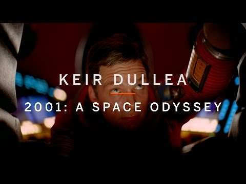 KEIR DULLEA on 2001: A SPACE ODYSSEY