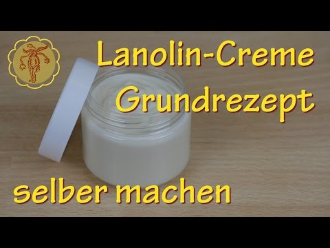 Lanolin-Creme selber machen - Grundrezept