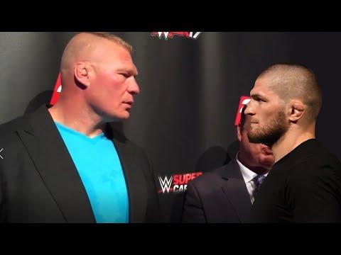 БРОК ЛЕСНАР НАЕХАЛ НА ХАБИБА НУРМАГОМЕДОВА и вызвал его на БОЙ В WWE! / Неожиданное заявл. Диллона!