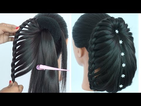 new hairstyle for long hair || ladies hair style || braided hairstyles | cute hairstyles | hairstyle thumbnail