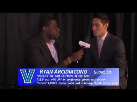 Ryan Arcidiacono interview (2015 Big East Media Day)