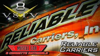 2015 Muscle Car & Corvette Nationals: Reliable Carriers Video V8TV